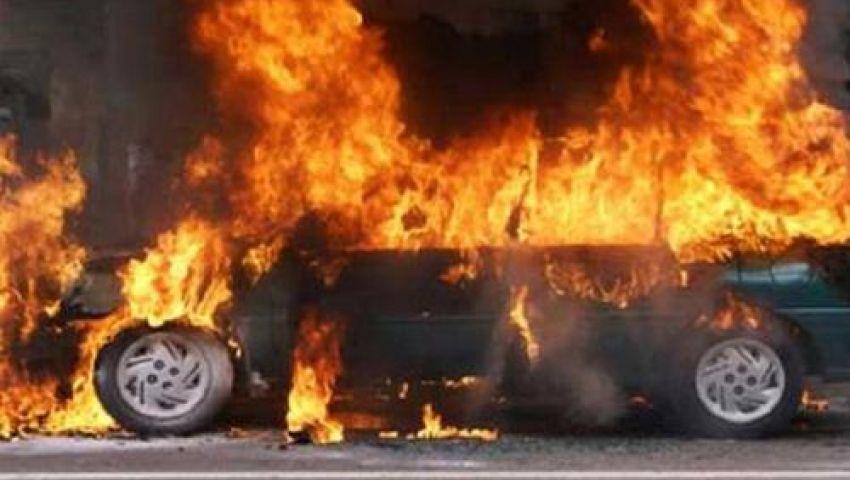 مجهولون يحرقون سيارات ومحال تجارية يملكها مخبرون في ناهيا