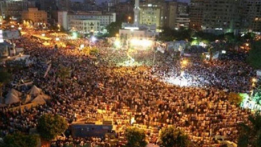 مؤيدو مرسي يعلنون استمرار مظاهرة إسقاط الانقلاب حتى الأحد