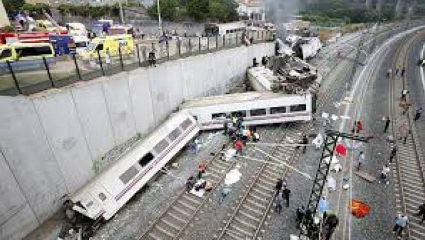ارتفاع عدد ضحايا حادث القطار في إسبانيا إلى 80 قتيلا