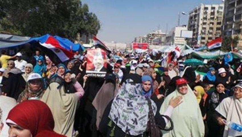 انطلاق مسيرة نسائية حاشدة لدعم الشرعية بمدينة نصر