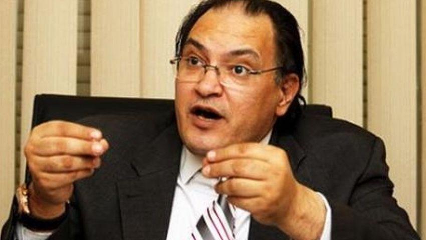 حافظ أبو سعدة: بيان الحكومة لم يتطرق لقضية حقوق الإنسان