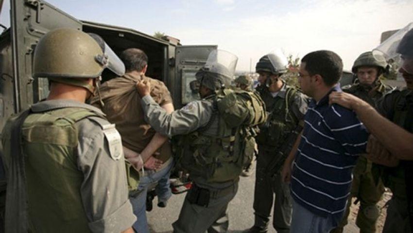 الاحتلال الإسرائيلي يعتقل 6 فلسطينيين في الضفة