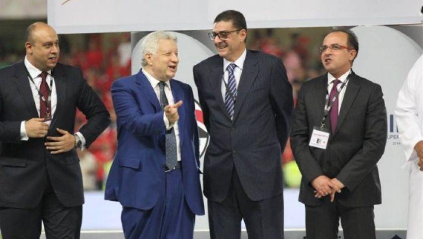 محمود طاهر يصدم مرتضي منصور