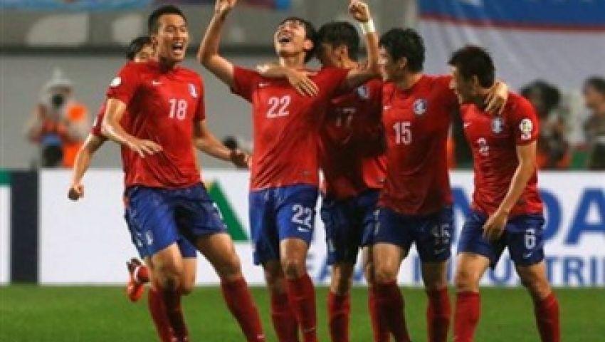 كوريا الجنوبية فى دور الثمانية بمونديال الشباب