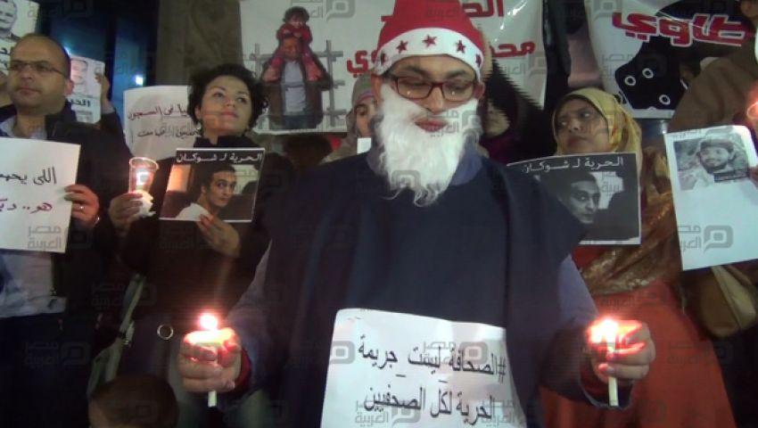 بالفيديو| البلشي: مش هنسكت طالما يوجد انتهاك لحقوق الصحفيين
