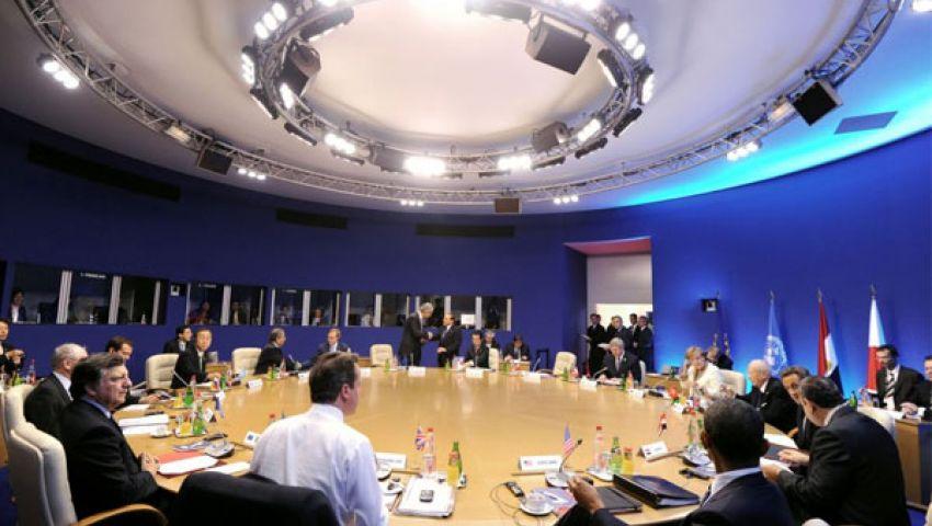 دول الثماني تفشل في الاتفاق على مستقبل الأسد