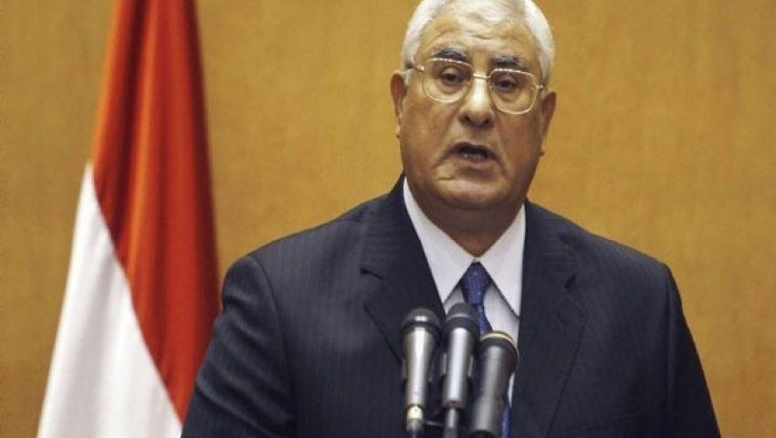 الرئاسة: سنقتص لشهداء تفجير المنصورة الخسيس
