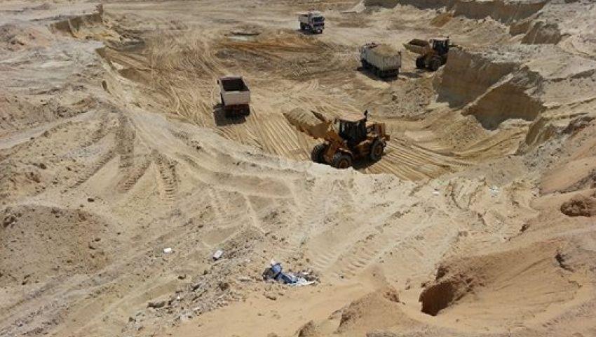 الوزير: 43 مليون متر رمال نتائح الحفر الجاف