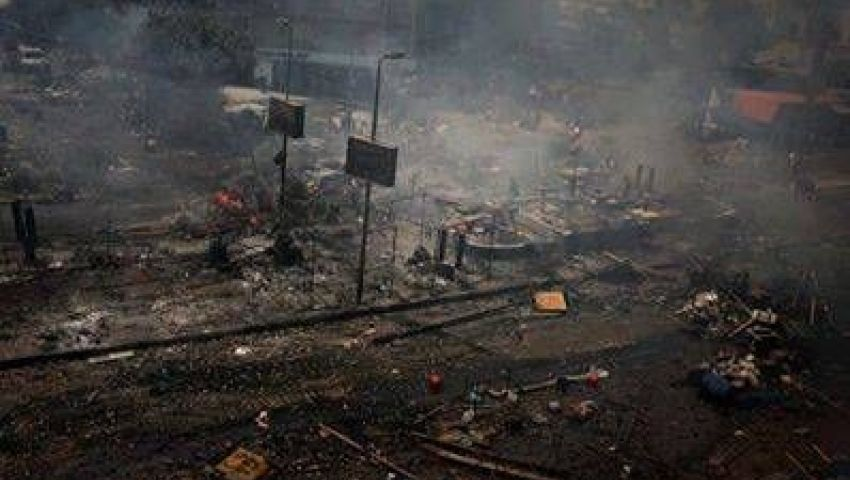 الشعبي يبرر فض اعتصام رابعة بفيلم وثائقي