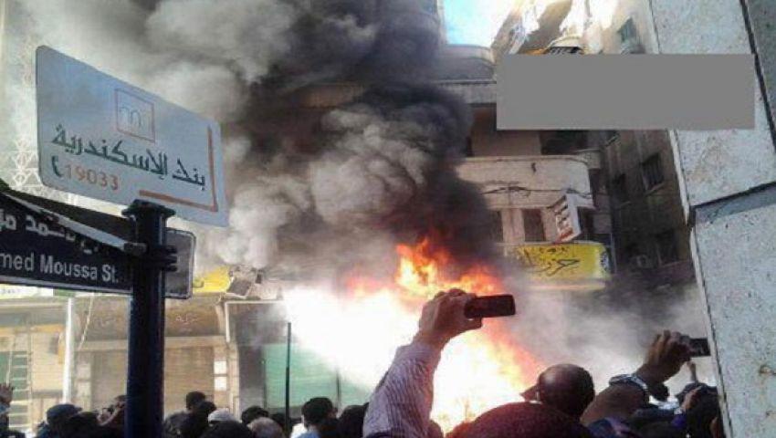 الإخوان تتهم تمرد بالاعتداء على مقرها بالإسكندرية