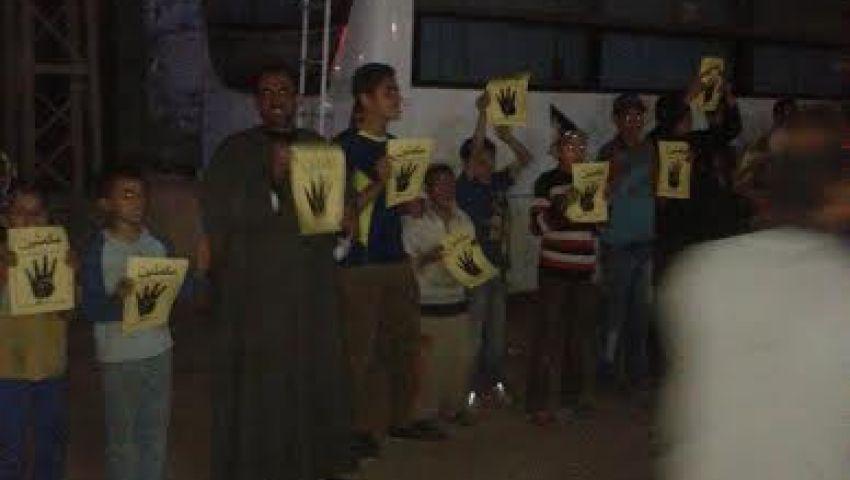 وقفة احتجاجية بمركز إطسا بالفيوم تنديدا بتدهور المعيشة