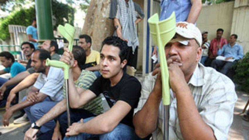 مصابو الثورة : النظام لن يحل النور لقربه منه