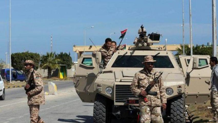 طائرات مجهولة تقصف قاعدة براك الجوية جنوب ليبيا