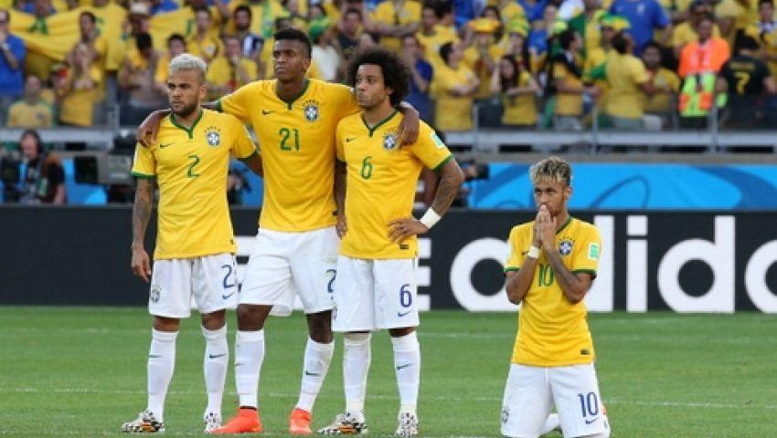 ألفيس ومارسيلو خارج قائمة البرازيل