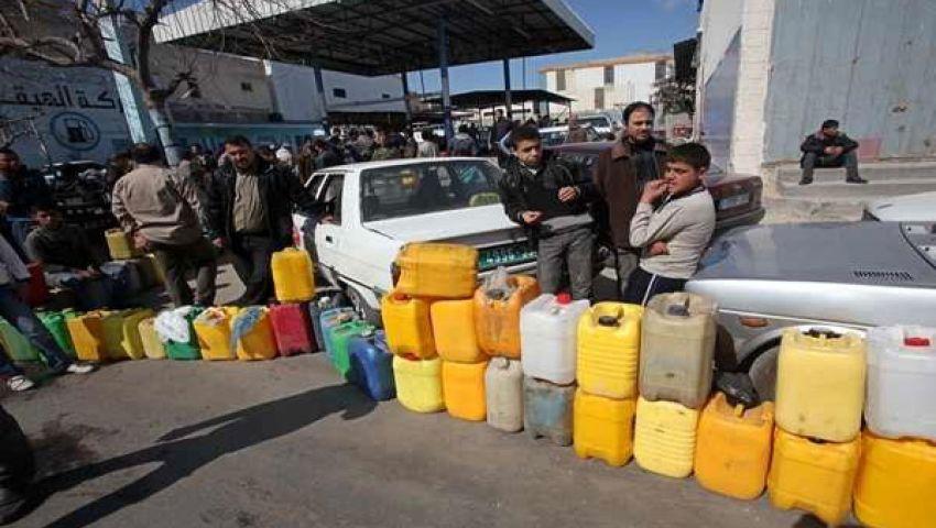الوقود يهدد سكان غزة بـالعطش