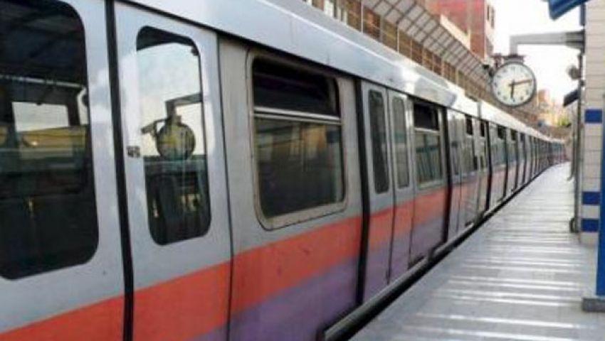 تشغيل أربعة قطارات مكيفة بالخط الثاني للمترو قبل رمضان