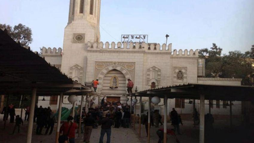 احتجاز 6 من الإخوان داخل مسجد بمدينة فوة ومنع أذان المغرب