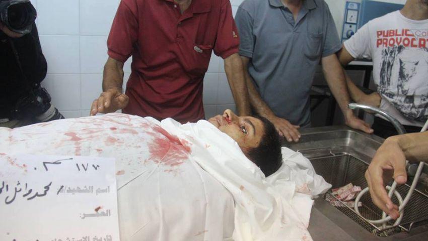 ارتفاع ضحايا غزة إلى 2123 شهيدا