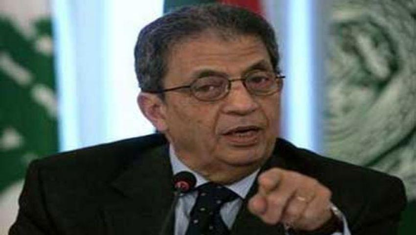 عمرو موسى: تصريحات السيسي تؤكد وعي الجيش