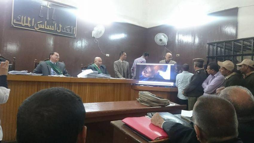بالصور| تأجيل محاكمة الضباط المتهمين بـمقتل شبيب في الأقصر