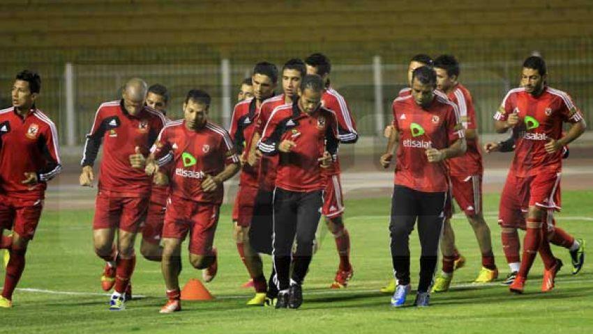 الأهلي يحدد ملعب التدريب بالمغرب