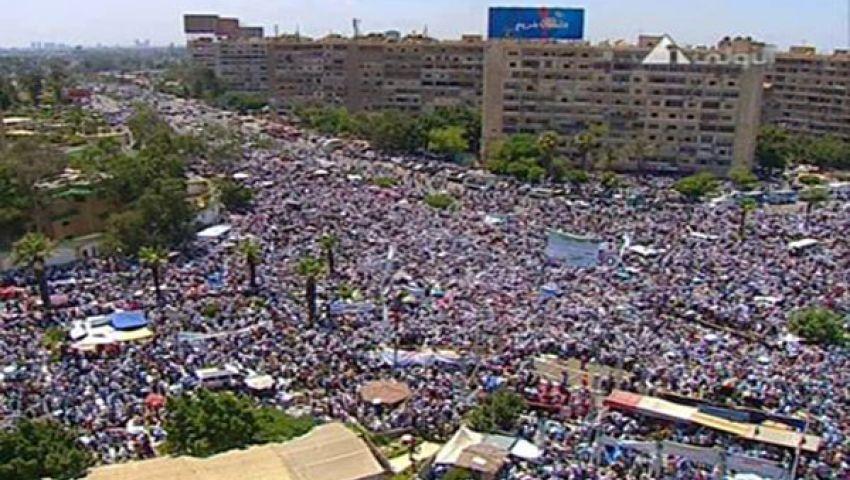 إخوان المنوفية يشاركون في مليونية لا للعنف