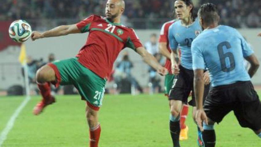 آس تشيد بأداء المغرب أمام أوروجواي