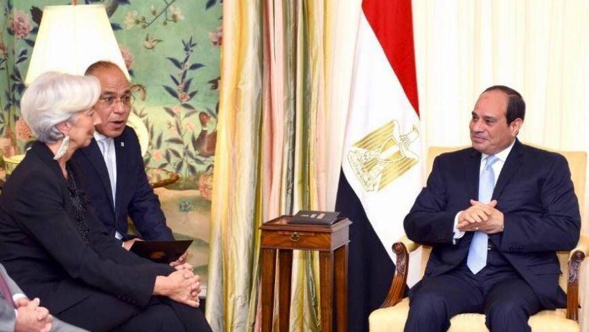 صندوق النقد ينفذ المراجعة الأخيرة مع مصر يونيو المقبل
