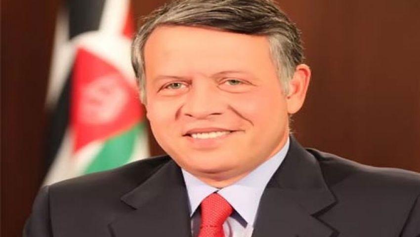 ملك الأردن أول حاكم عربي يزور مصر بعد 30 يونيو