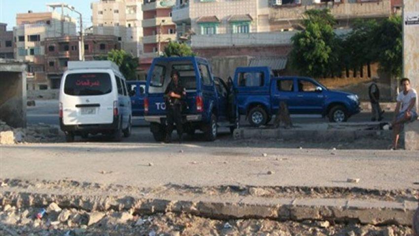إصابة مخبر ومجند في مطاردة مع 3 مسلحين بالشرقية