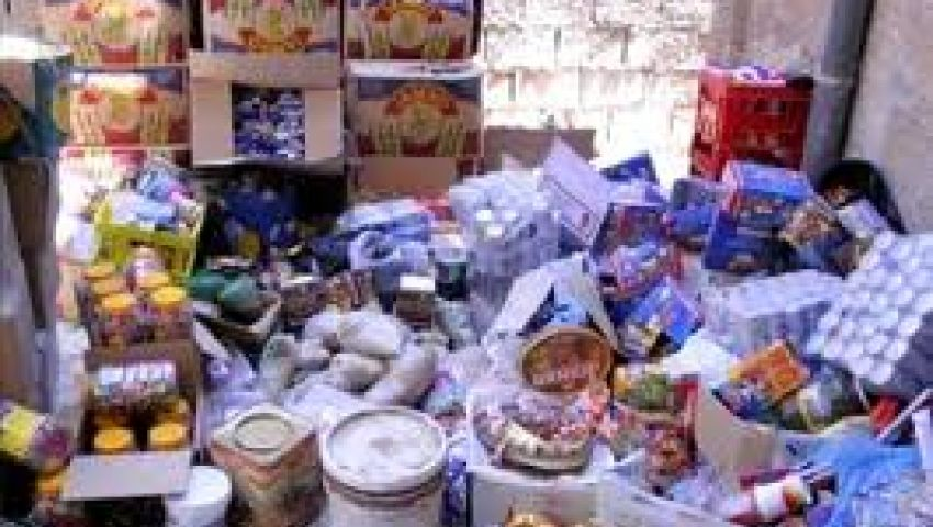 ضبط 250 كيلو مواد غذائية فاسدة بالإسماعيلية