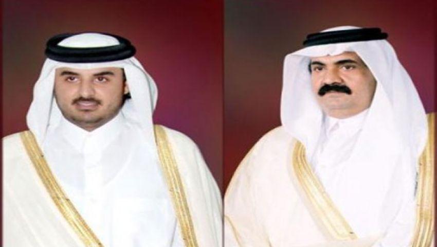 الجزيرة : أمير قطر يقرر تسليم الحكم لولي عهده