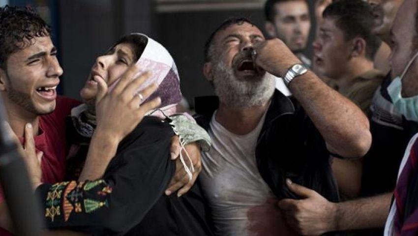 ارتفاع عدد شهداء غزة إلى 2105