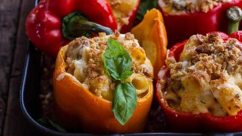 الفلفل المحشي.. وصفة من المطبخ الإيطالي