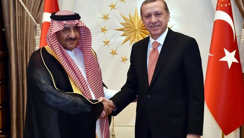 أردوغان يستقبل ولي العهد السعودي في القصر الرئاسي