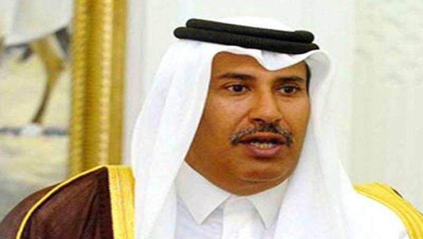 رئيس وزراء قطر: تسليح المعارضة السبيل الوحيد للسلام بسوريا