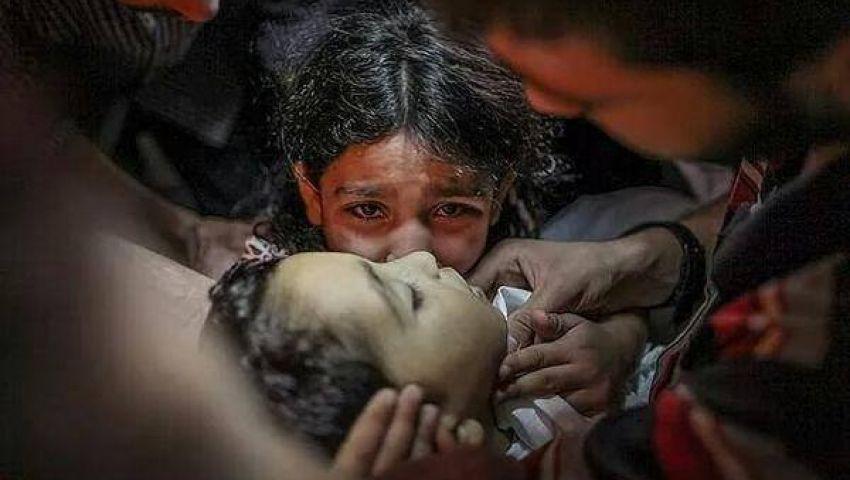 ارتفاع ضحايا غزة إلى 2142 شهيداً