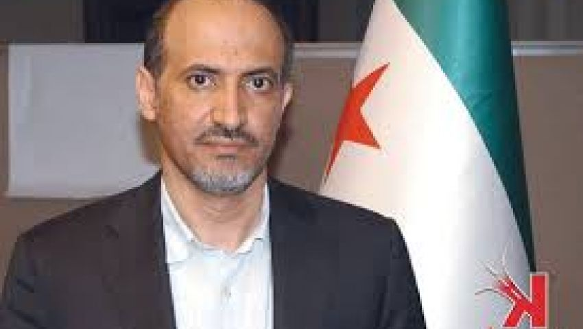 الجربا يطالب الجامعة العربية بدعم ضرب سوريا