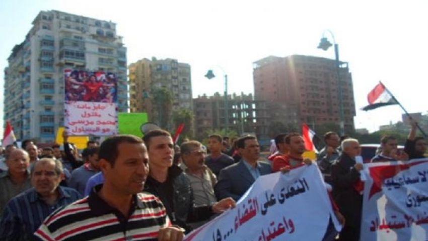انطلاق مسيرات معارِضة للرئيس في دمنهور