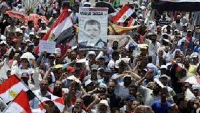 وقفة احتجاجية لتحالف القوى الرافضة للانقلاب بالرماية