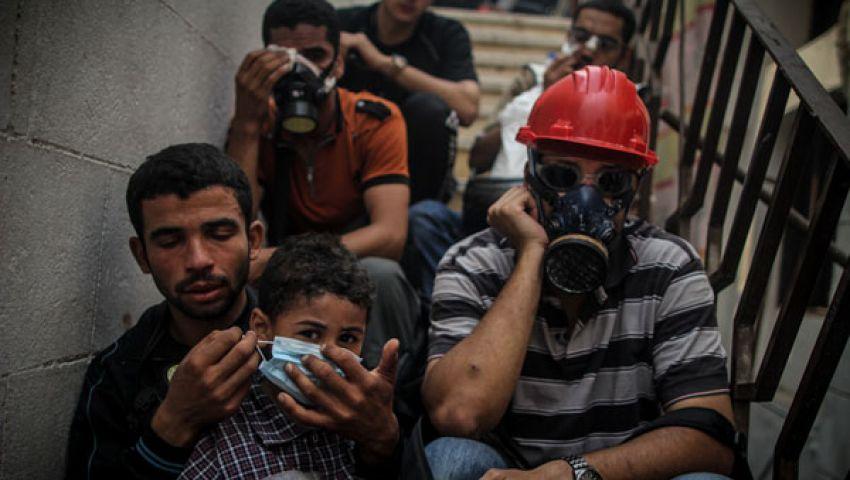 97 طفلا من معتصمي رابعة خلف الأسوار