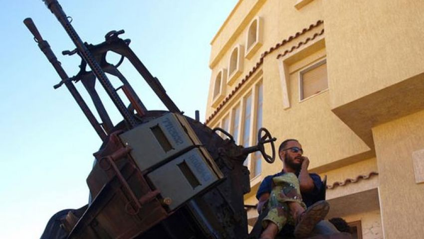 بالفيديو ..الميليشيات تهدد وحدة ليبيا