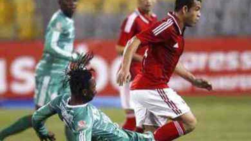 انطلاق مباراة الأهلى وليوباردز الكونغولي