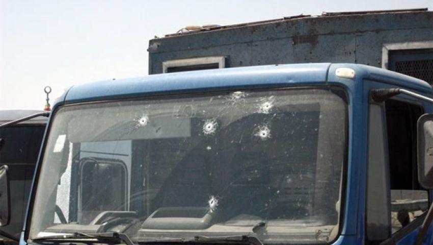 فيديو.. الهجوم المسلح على سيارة ترحيلات الاسماعيلية