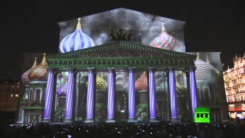 شاهد.. مهرجان دائرة الضوء في موسكو