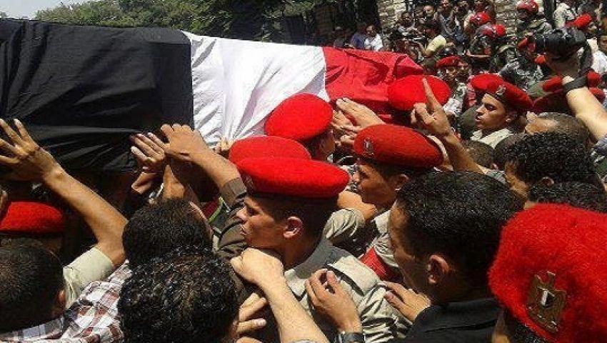 طائرات نقل ضحايا سيناء فى طريقها لمطار ألماظة