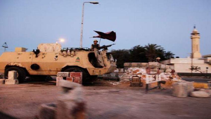 مقتل مدنيين واصابة 6 جنود في هجوم على نقطة تفتيش بسيناء