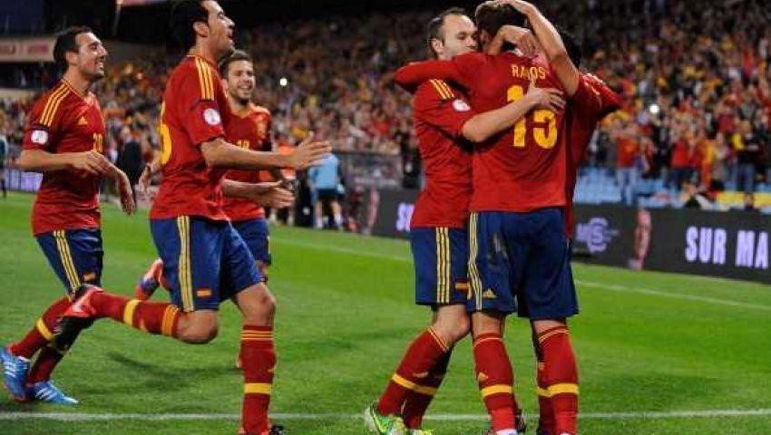 فيديو.. إسبانيا على أعتاب المونديال