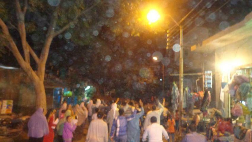 4 مسيرات ليلية لمعارضين ببني سويف رفضا لحصار الميمون