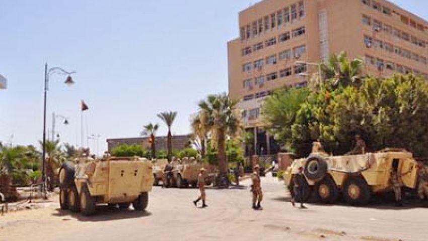 الجيش الثالث بالسويس يطالب المواطنين بإخلاء الشوارع